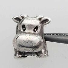 PANDORA Retired Cow Charm #790565 Sterling Silver QT-PCC8