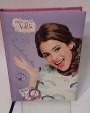 Violetta diario con registratore vocale cm 21,5x 17
