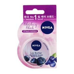 NIVEA Lip Butter Blueberry Blush Blush Bleuet Long-Last 12 Hours Moisture 16.7g