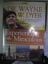 dr. wayne w. dyer experiencing the miraculous  dvd new