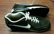 Nike Air Max 90 Dark Grey Black White YOUTH Size 6 Y