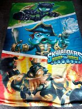 CHILDRENS SINGLE SKYLANDERS SWAP FORCE REVERSIBLE DUVET COVER