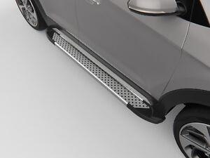 Ford EXPLORER 2011-2017 Running Board Side Steps Sapphire V1 Silver 183 cm