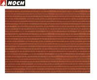 "NOCH H0 56670 3D-Kartonplatte / Mauerplatte ""Dachziegel"" (1 m² - 57,28 €) - NEU"