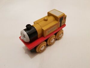Thomas The Tank Engine & Friends WOODEN STEPNEY TRAIN WOOD BRIO COMBINED P&P