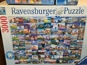 Ravensburger 17080 99 Place of Europe 3000 Piece Jigsaw Puzzle