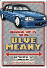 VK BLUE MEANY SS GROUP A CAR/ROAD  PARKING SIGN