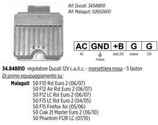 REGOLATORE DI TENSIONE DUCATI MALAGUTI CIAK 2T MASTER EURO 2 PHANTOM F12R LC 50