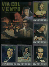 """MOVIE POSTERS: MOVIE STARS Breygent Complete """"GONE WITH THE WIND"""" Chase Card Set"""