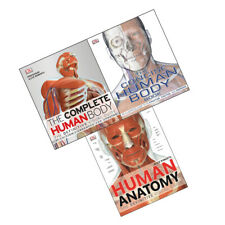 Concise Human Body Book  Definitive Visual Guide 3 Books Collection Set NEW