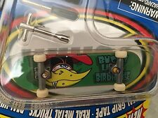 New Tech Deck Bucky Lasek Birdhouse Skateboard G4 1999 Vintage Art