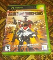 Armed and Dangerous Microsoft Xbox Original Sealed New 2002 Video Game