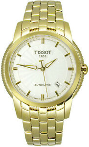 Tissot Swiss Made T-Classic Ballade Automatic Gold Plated Men's Watch
