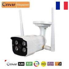 Camera de Surveillance IP WiFi HD Extérieure Infrarouge 2 Antennes