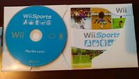 Wii Sports (Wii, 2006) with sleeve and manual