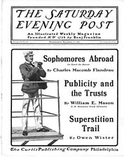 Saturday Evening Post  -  Full Magazine -  No Mailing Label -  November 2, 1901