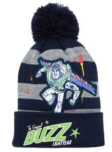 Disney Toy Story Buzz Lightyear Bobble Hat Boys Multicolored Winter Hat for Kids