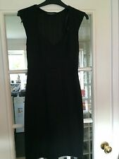 Dorothy Perkins Women's Black Synthetic Rockabilly Fitting Dress NICE Size 8 UK