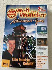 CD ROM PC Welt der Wunder, Eine Insel in Gefahr Spiel+Lernen, neu