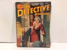 Dime Detective Pulp April 1944
