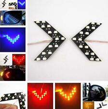 2x 14-SMD LED Arrow Panels for Car Side Mirror Turn Signal Indicator Lights