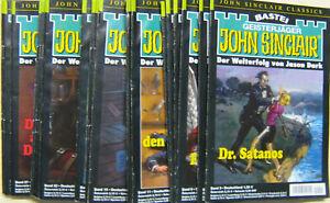 JOHN SINCLAIR CLASSICS * Band  3 - 30 * ( 24 Romanhefte ) NEUWERTIG