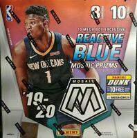 Mosaic Mega Box 2019-20 Basketball Sealed NBA Zion Williamson Auto? Ja Morant