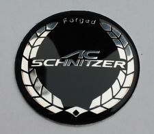 BMW AC SCHNITZER Aluminum Badge 45mm Steering Wheel Overlay Emblem Sticker Logo