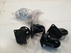 Furniture of America Modern Chevy 5 Chest Casters Wheels & Hardware KIT ONLY I4