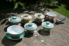 Job Lot Chinese Porcelain Hand Painted Tea Cup Saucer Bowl & Spoon - Marks