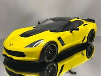 GT Spirit Chevy Chevrolet Corvette Z06 C7-R Edition 2016 Racing Yellow 1:18