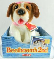 Vintage 1993 Kenner Beethoven's 2nd Missy Puppy Dog Plush Stuff Animal Toy New