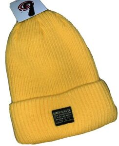 Element Fundamentals Gold Double Layer Knit Beanie, One Size. NWT, RRP $29.99.