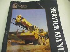 heavy equipment manuals books for grove crane ebay rh ebay ca grove rt635c service manual