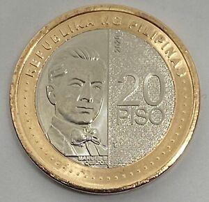 PHILIPPINES 2020 20 Piso NGC New Generation Bimetallic Coin Uncirculated UNC