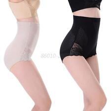 Women High Waist Slimming Corset Abdomen Body Control Shaper Brief Plus Size T58