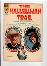 Dell Movie Classic The Hallelujah Trail 1966 Vg Vintage Comic