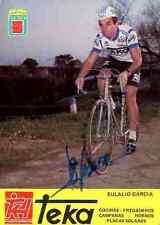 EULALIO GARCIA Team TEKA 81 Signed Autographe cycling Signé cyclisme