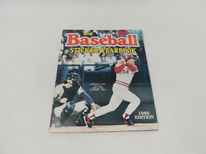 Topps Baseball Sticker Yearbook 1986 Pete Rose Many Stickers