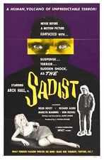 Sadist Poster 01 A3 Box Canvas Print