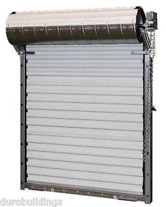 DuroSTEEL JANUS 14'x14' Heavy Duty 3652 Series FL Wind Rated Roll-up Door DiRECT