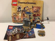 Lego Pirates of the Caribbean 4181 Isla De la Muerta NearComplete w/Manual