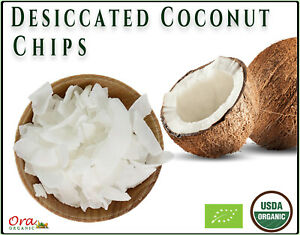 Ceylon Organic Coconut Chips ( Desiccated Pure Coconut )