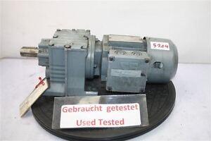 Sew 0,25 Kw 25 Min Gear Motor R27 DT63N2/ B03/ Hr / Z Eurodrive