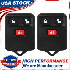 2 Replacement Keyless Entry Remote Control Car Key Fob Clicker Transmitter Alarm