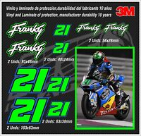 Decal Set Franco Morbidelli ,stickers-pegatinas-aufkleber-autocollants-adesivi,