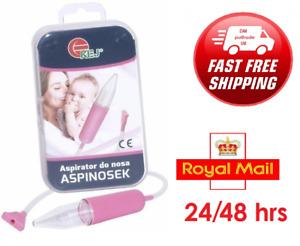 ✅Baby Safe Nasal Aspirator Mucus Runny Nose Aspirator Cleaner ✅ UK