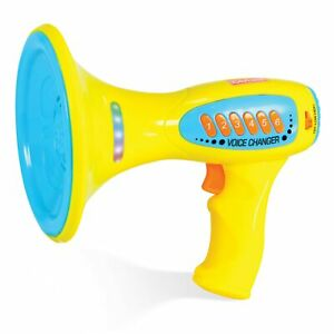 Kids Voice Changer with Megaphone Function, LED Lights 5 Different Sound Effects
