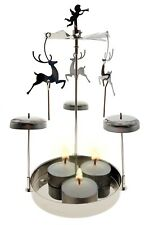 Mobile Chime Tea Light Candle Holder – Reindeer