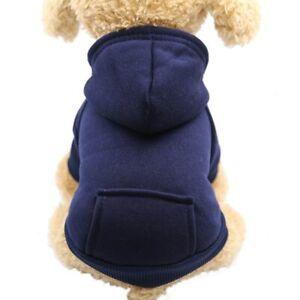 Pet Dog Hoodie Coat Soft Fleece Sweatshirt Winter Top Quality Warm Puppy Clothes